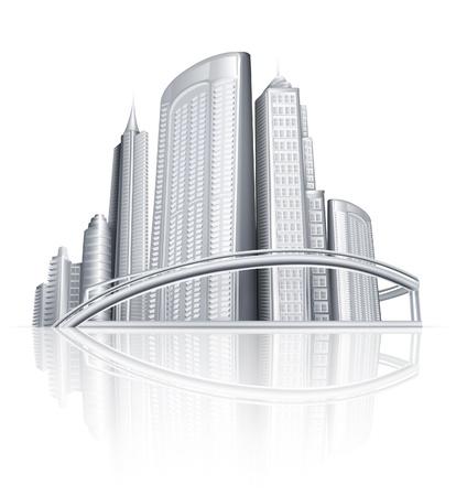City Stock Vector - 13798569
