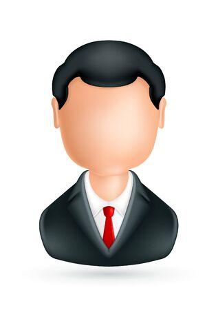 Businessman, icon