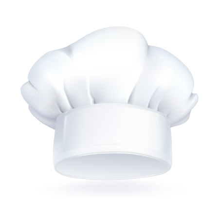 Chef hat, icon Vector