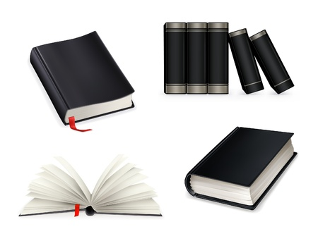 Book collection Stock Vector - 13798548