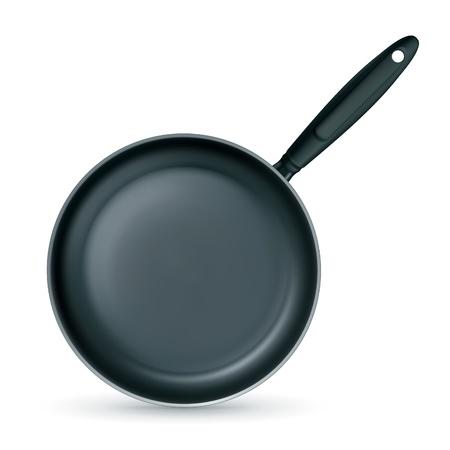 skillet: Frying pan Illustration