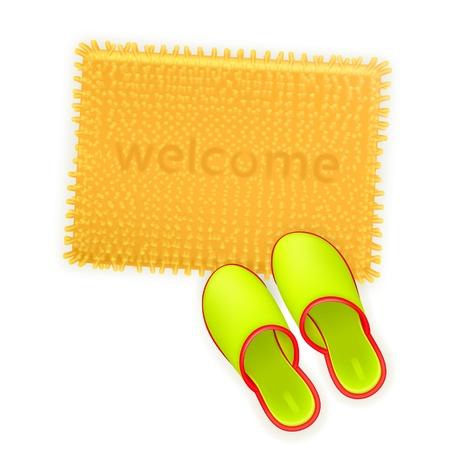 slipper: Home comfort Illustration