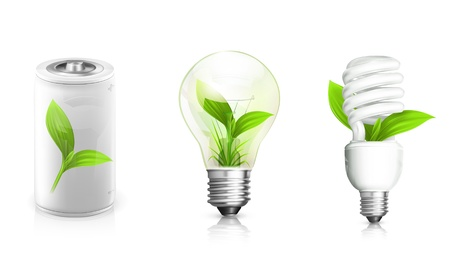 resourceful: Green Energy Illustration