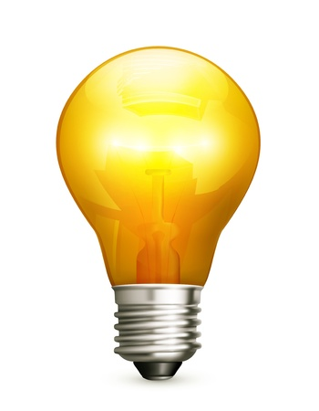 light bulb idea: Lightbulb