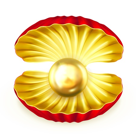 nacre: Pearl gold