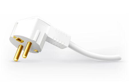 power plug: Power plug Illustration