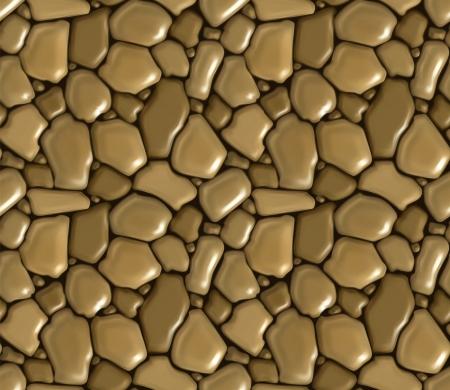 bollwerk: Bruchsteinmauerwerk nahtlose Illustration