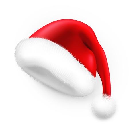 산타 모자: 산타 클로스 모자 일러스트