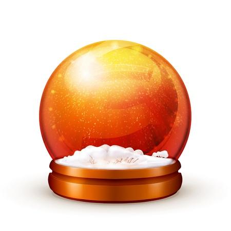 Snow ball Stock Vector - 13820549