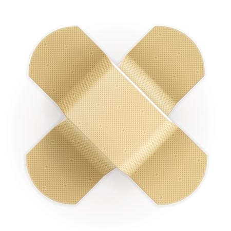 Adhesive bandage Stock Vector - 13820732