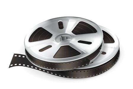 Film Reel Stock Vector - 13820738
