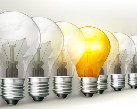 lightbulbs: Light bulbs