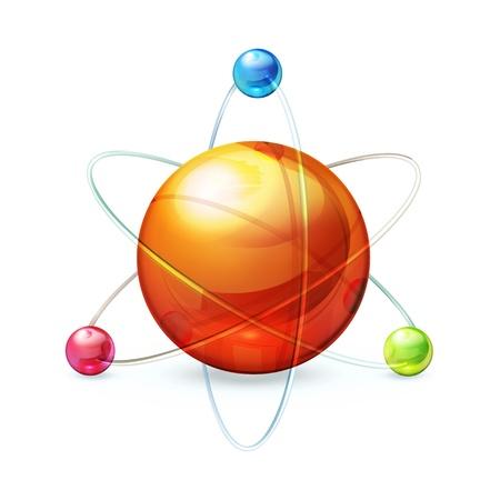 Atom Stock Vector - 13820720