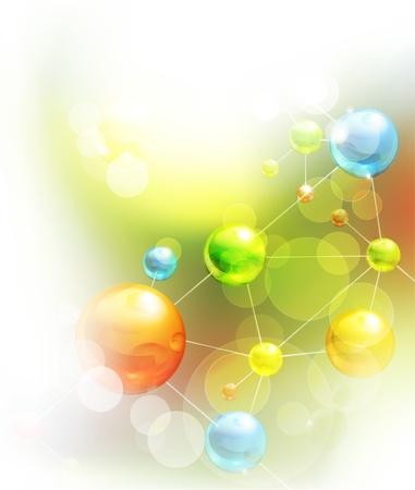 qu�mica: Fondo futurista
