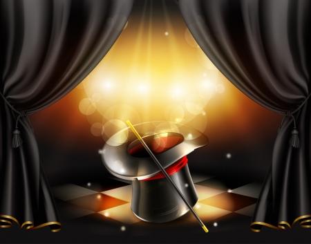 cilindro: Trucos de magia de fondo