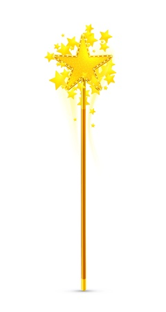 fairy wand: Magic wand Illustration