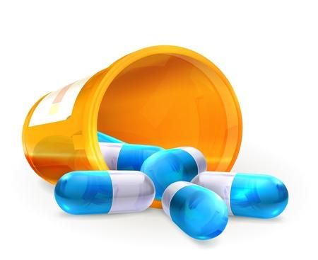 Pillen Vector Illustratie