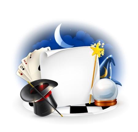 fortuneteller: Magic frame