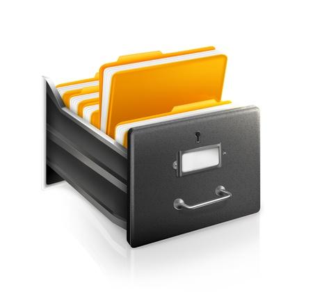 archiv: Open Card Katalog Illustration