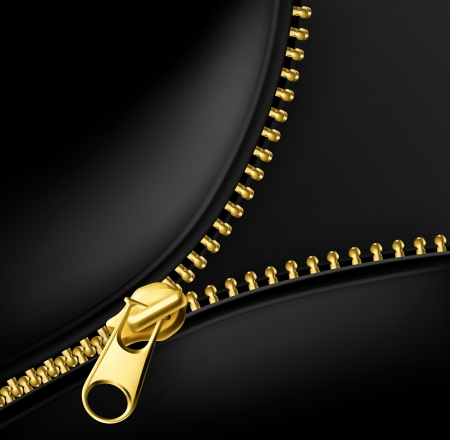 zip: Zipper gold