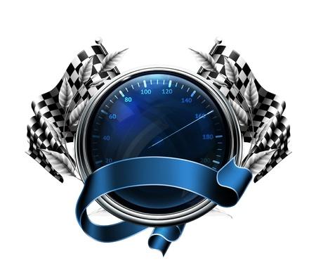 Speedometer Stock Vector - 13876038