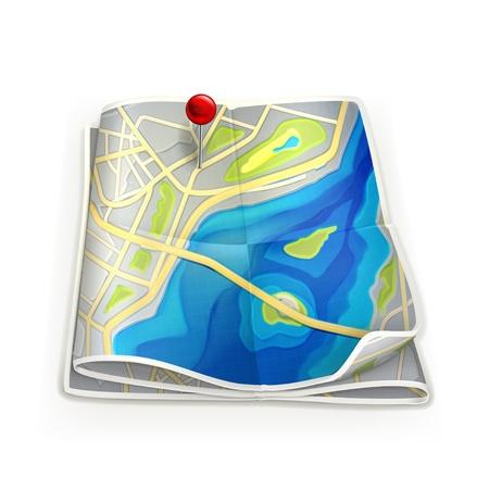 City map Stock Vector - 13876041