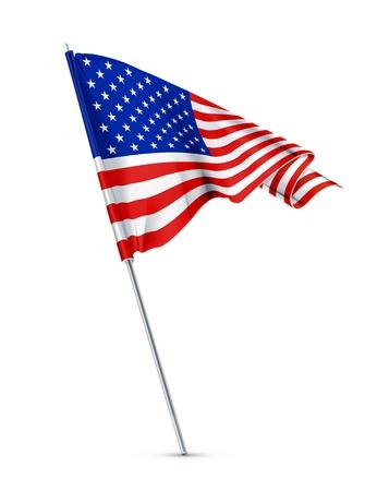 union flag: American flag