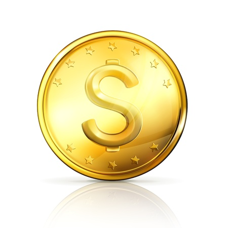 piece d or: Monnaie d'or Illustration