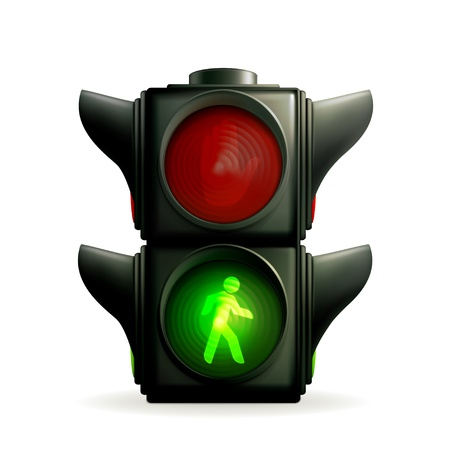Green light Vector