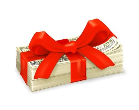 paying bills: Money gift