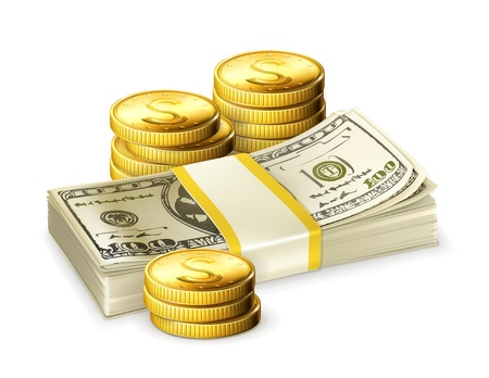 Money Stock Vector - 13884919