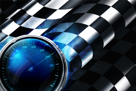 rally: Checkered Background