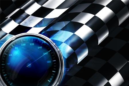 Contexte Checkered