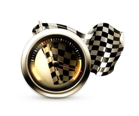 gauge: Racing banner