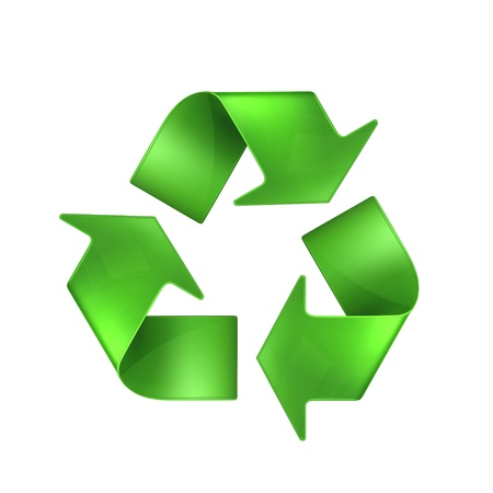 recycling symbol: Recycling Illustration