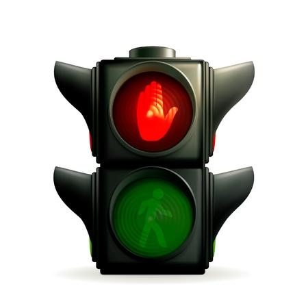 Red light Vector