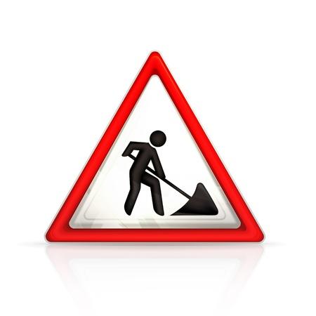 roadworks: Roadworks sign