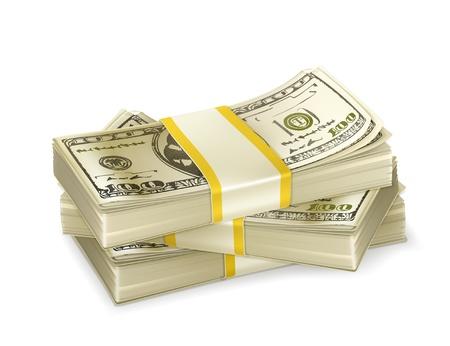 letra de cambio: Pila de dinero