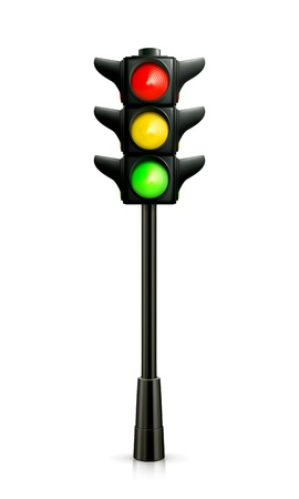Traffic lights Stock Vector - 13898700