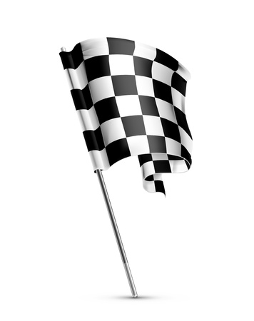 Checkered flag Stock Vector - 13898696
