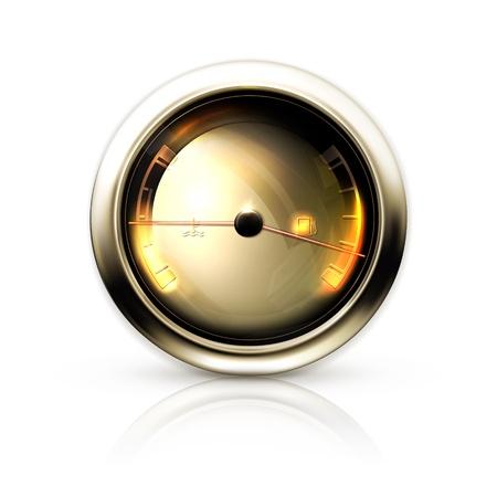 fast driving: Speedometer