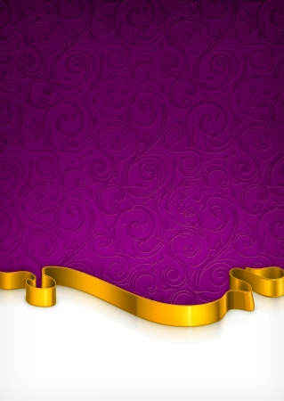 royal background: Invitation Card