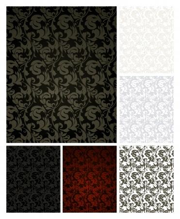 Pattern seamless, set Vector