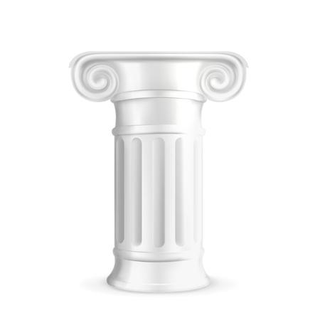roman pillar: Column Illustration