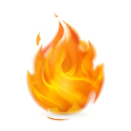 Fire, icon Illustration