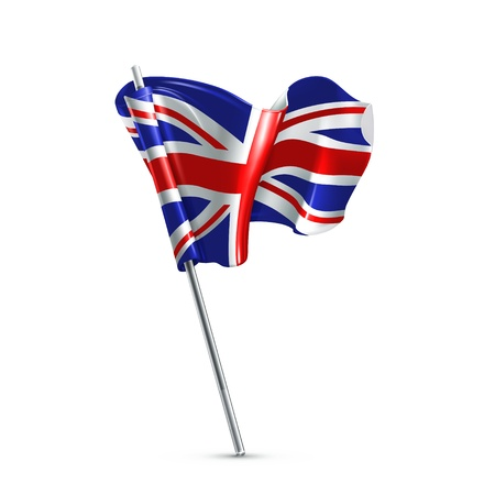 bandiera inghilterra: Bandiera del Regno Unito Vettoriali