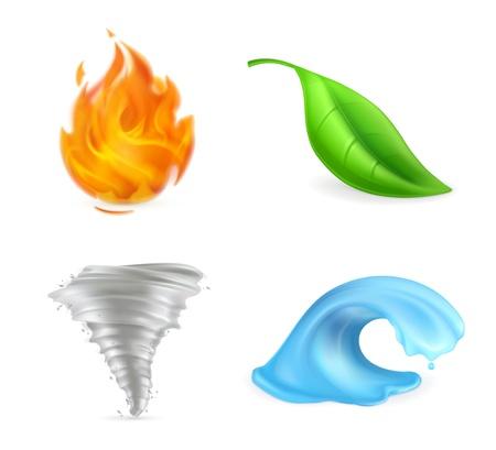 Natürliche Elemente