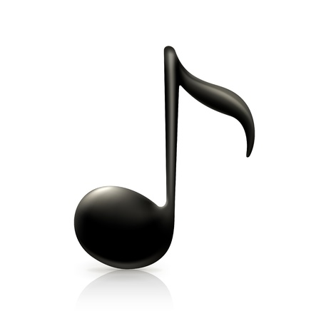 eighth: Music Note Illustration