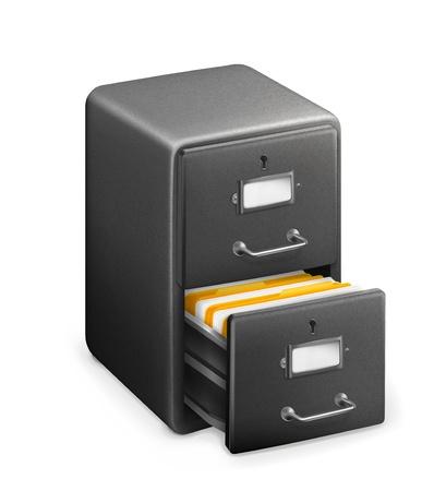 storage box: Card Catalog Illustration