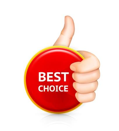 coincidir: La mejor opción Vectores